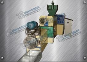 Линия грануляции мягких отходов