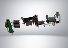 Комплекс переработки пэт отходов
