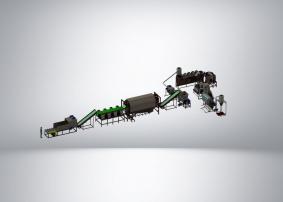 Комплекс переработки твердых тонкостенных отходов