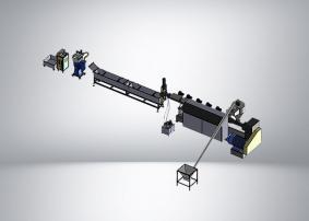 Линия грануляции ПЭТ 500 кг/ч