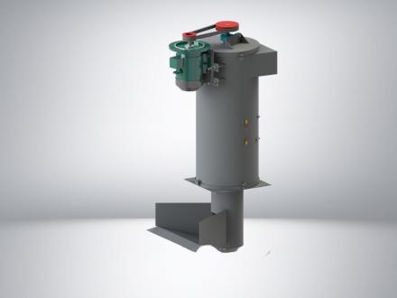 Вертикальная центрифуга PZO 520-CV