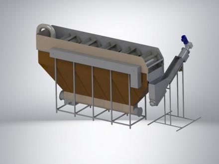 Ванна флотации для всплывающих материалов